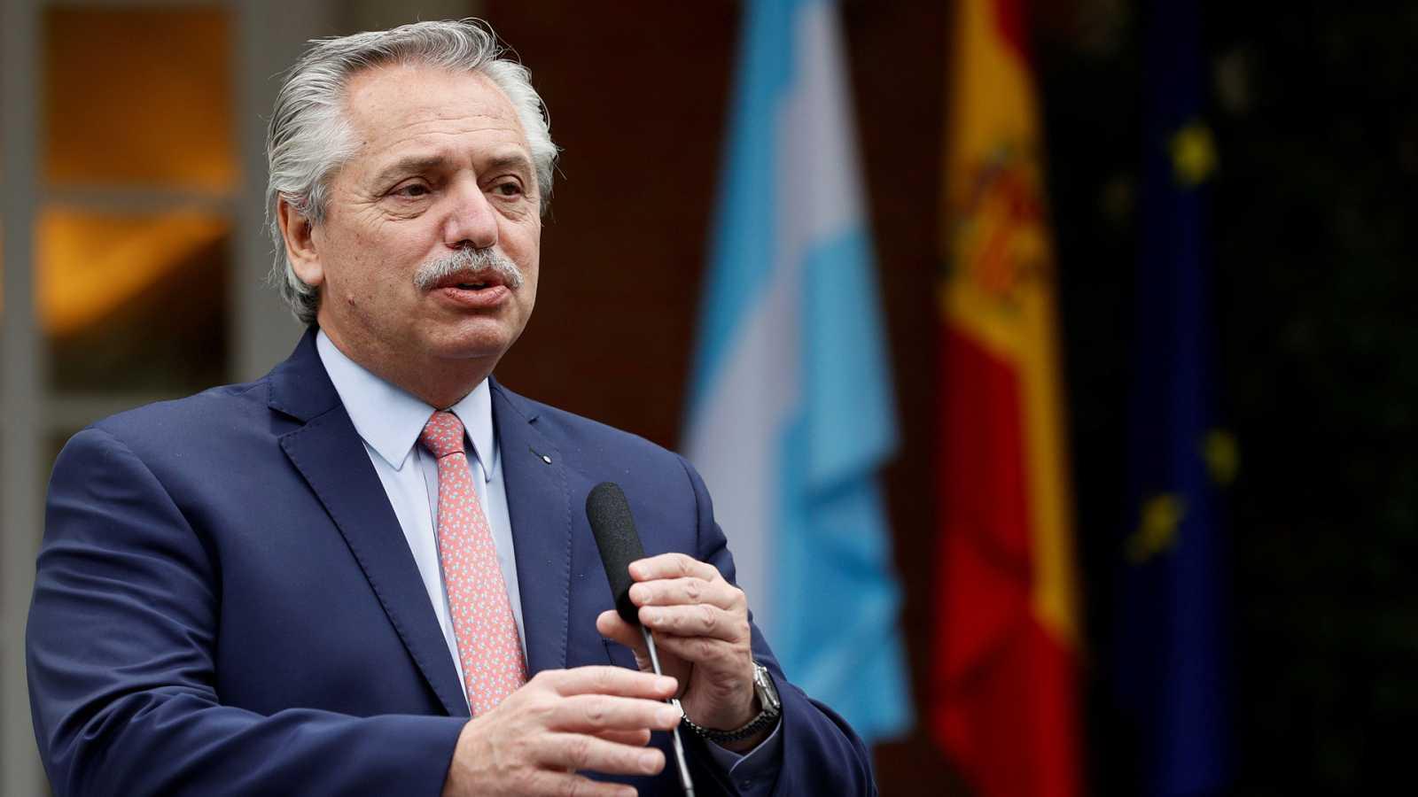 Hora América - Visita del presidente argentino, Alberto Fernández, a España, dentro de su gira europea - 11/05/21 - escuchar ahora