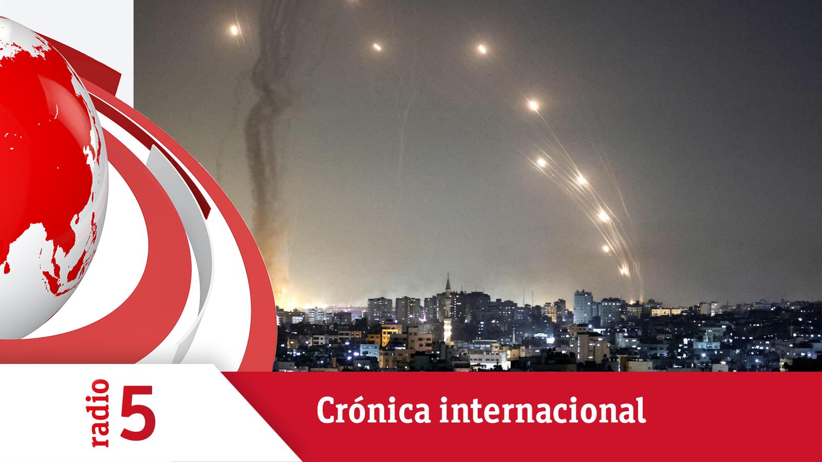 Crónica Internacional - Se intensifican los bombardeos y enfrentamientos entre israelíes y palestinos - Escuchar ahora