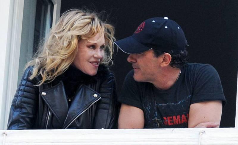 De boca a orella - Antonio Banderas i Melanie Griffith