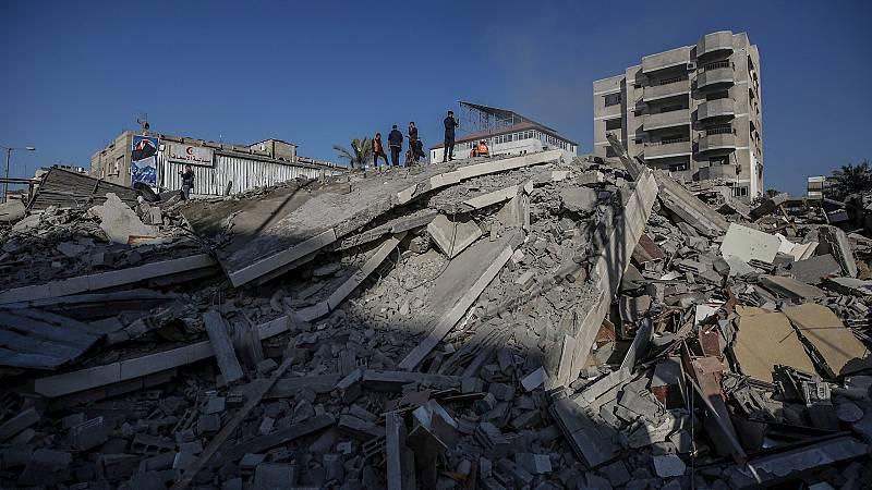 14 horas Fin de Semana - Continúan los ataques del ejército israelí sobre Gaza: 139 víctimas y los hospitales saturados - Escuchar ahora