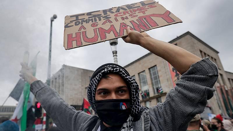"""20 horas Fin de Semana - Las organizaciones en Gaza denuncian el uso """"inaceptable"""" de la fuerza por parte de la policía israelí - Escuchar ahora"""