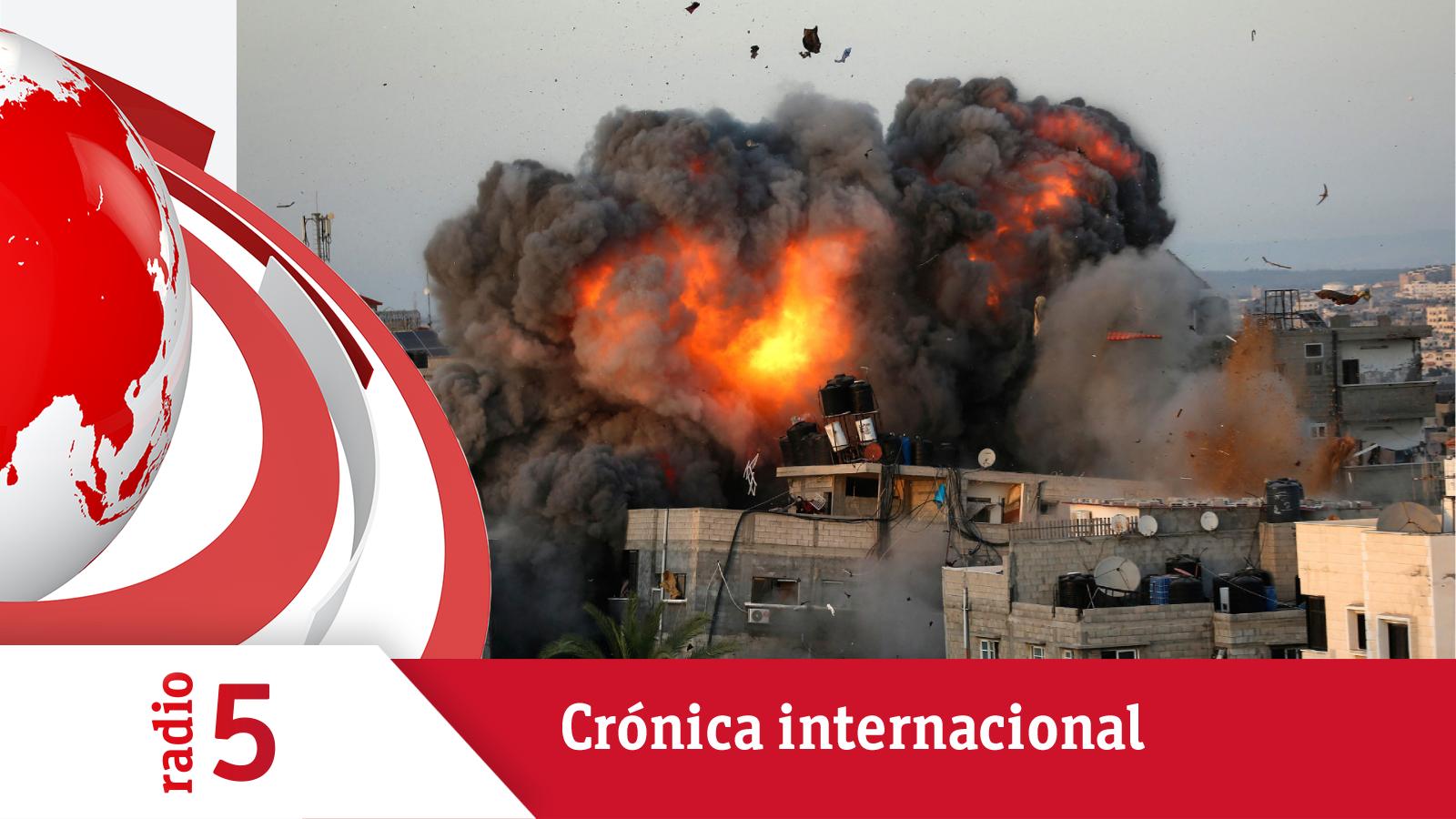 Crónica Internacional - Aumentan las víctimas civiles en Gaza en la escalada de la violencia - Escuchar ahora
