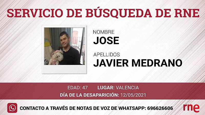 Servicio de búsqueda - José Javier Medrano, desaparecido en Valencia - Escuchar ahora