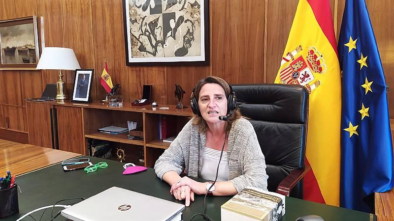 """24 horas - Ribera: """"España se ha comprometido por ley con el cambio climático"""" - Escuchar ahora"""