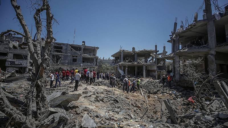 24 horas - Mesa del mundo: una semana de bombardeos en Gaza - Escuchar ahora
