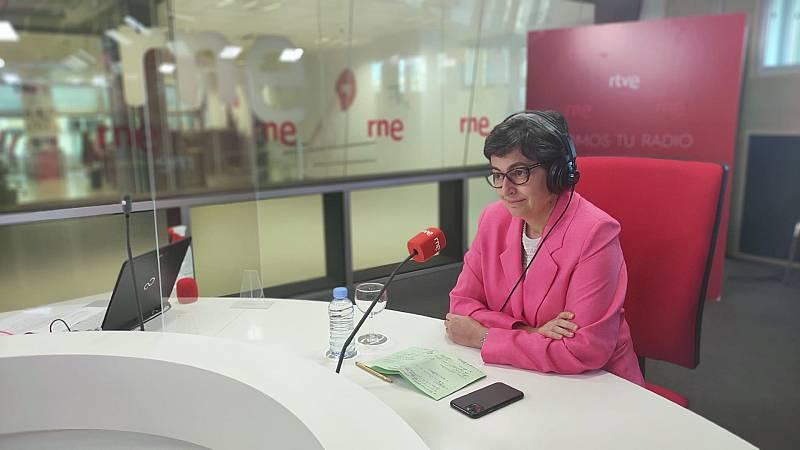 """Las mañanas de RNE con Íñigo Alfonso - González Laya reconoce que la acogida de Gali ha provocado la crisis con Marruecos: """"Hicimos un gesto humanitario, nunca le dimos un carácter de agresión"""" - Escuchar ahora"""
