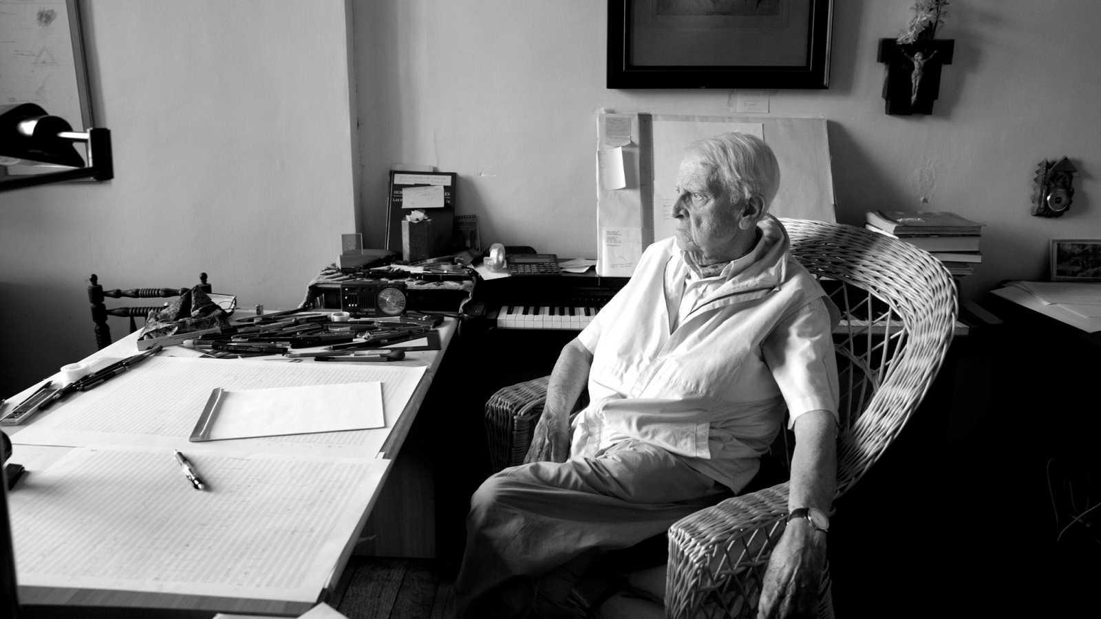 Cristóbal Halffter, su última entrevista en Radio Clásica - escuchar ahora
