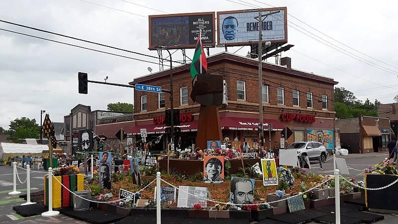 Las mañanas de RNE con Íñigo Alfonso - Minneapolis reivindica el 'Black Lives Matter' un año después de la muerte de Floyd - Escuchar ahora