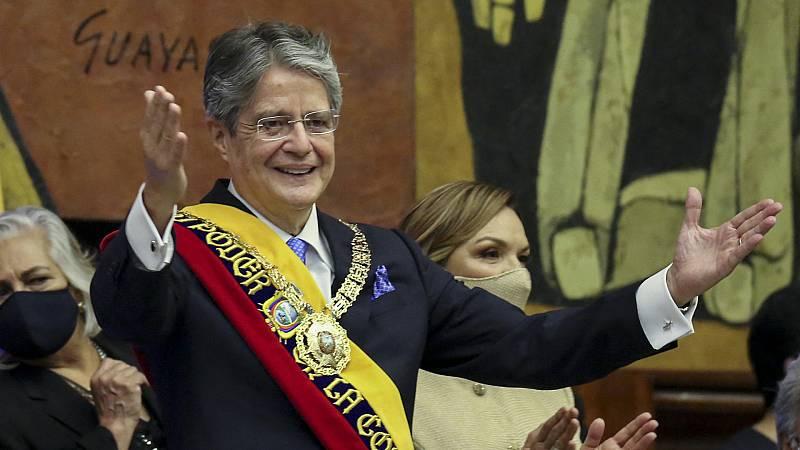 Hora América - Guillermo Lasso asume la presidencia de Ecuador con un mensaje de reencuentro - 25/05/21 - escuchar ahora