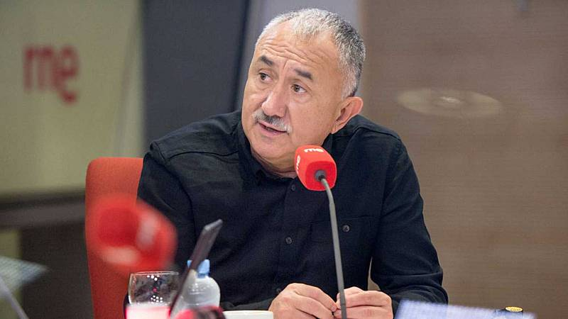 """24 horas - Álvarez, UGT: """"El acuerdo de los ERTE es positivo y fortalece el diálogo social"""" - Escuchar ahora"""