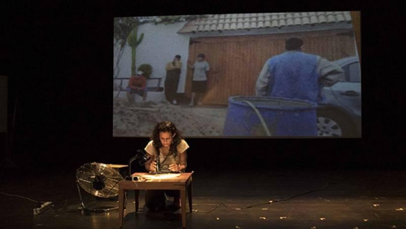 Hora América - Chaska Mori estrena en Madrid su obra de teatro 'El apellido comienza conmigo' - escuchar ahora