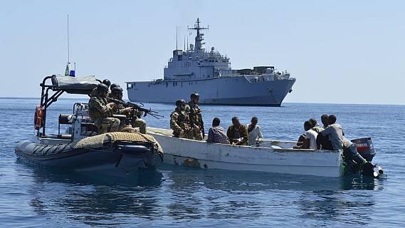 Españoles en la mar