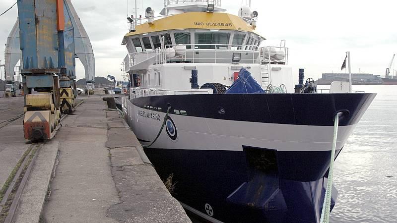 24 horas Fin de Semana - 20 horas - El buque Álvarez Albariño se une a la búsqueda de Anna y Olivia - Escuchar ahora