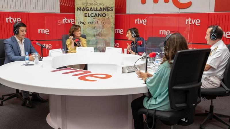Por tres razones - Jornadas Magallanes/Elcano: Todo sobre la primera vuelta al mundo - Escuchar ahora