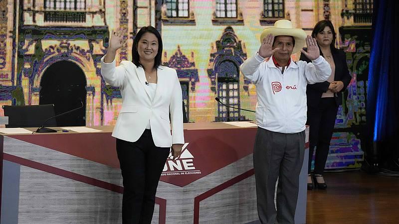 Hora América - Virtual empate técnico entre los candidatos a la presidencia de Perú - 31/05/21 - escuchar ahora