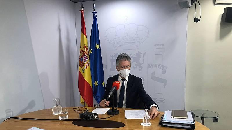 """Las mañanas de RNE con Íñigo Alfonso - Fernando Grande-Marlaska sobre los indultos: """"Hay que tomar decisiones difíciles o menos fáciles por el bien público general"""" - Escuchar ahora"""