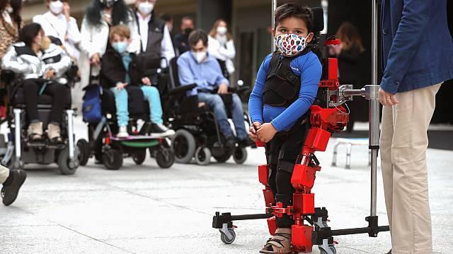 El primer exoesqueleto pediátrico del mundo es español