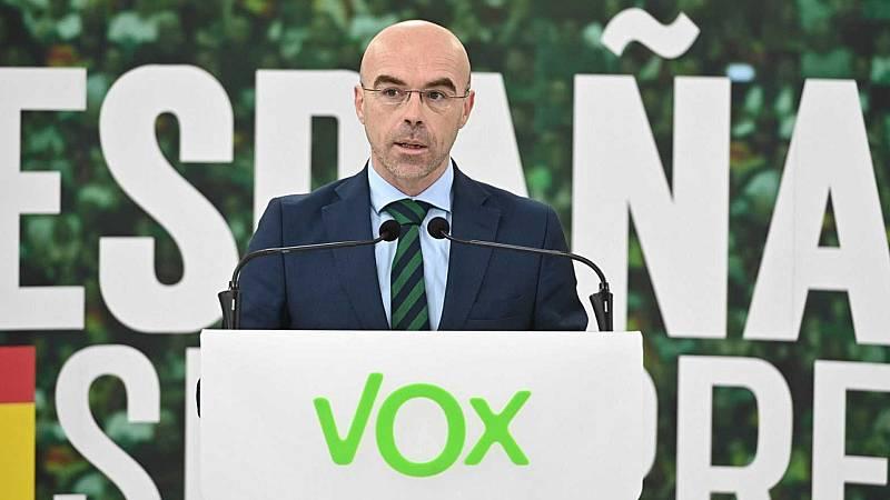 """24 horas - Buxadé, Vox: """"La justicia europea no respeta la legislación española"""" - Escuchar ahora"""