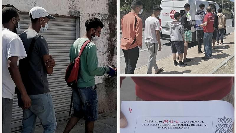 """14 horas - Cerca de 300 menores siguen viviendo en la calles de Ceuta: """"No quiero volver a Marruecos"""""""