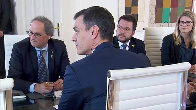 Aragonès i Sànchez se citen a la Moncloa per aquest mes de juny