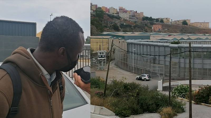 España a las 8 Fin de Semana - Atrapado en Ceuta con la vista puesta en Marruecos - Escuchar ahora