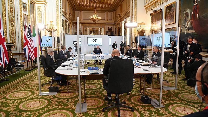 """14 horas Fin de Semana - Las claves del acuerdo del G7: """"Deja pocas esquinas a la evasión"""" - Escuchar ahora"""