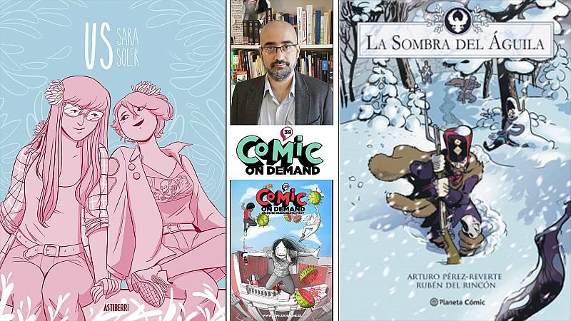¡Qué de cómics! - 'Us' de Sara Soler, 'La sombra del águila' en tebeo y Pablo Ríos - Escuchar ahora