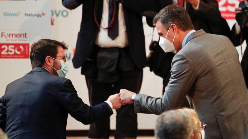 Sánchez i Aragonès aposten per obrir una nova etapa