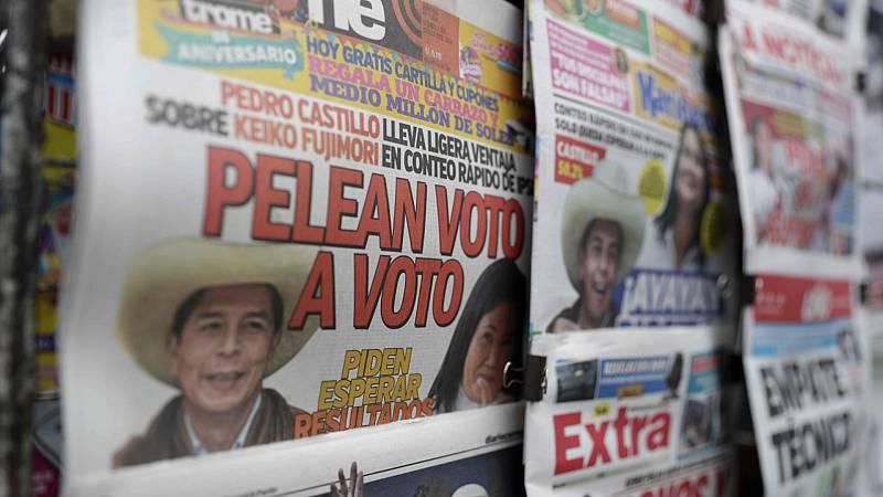 Cinco continentes - Perú: el escrutinio más reñido - Escuchar ahora