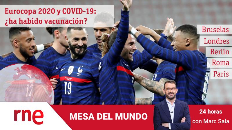 24 horas - Mesa del Mundo: la Eurocopa de la COVID-19 - Escuchar ahora