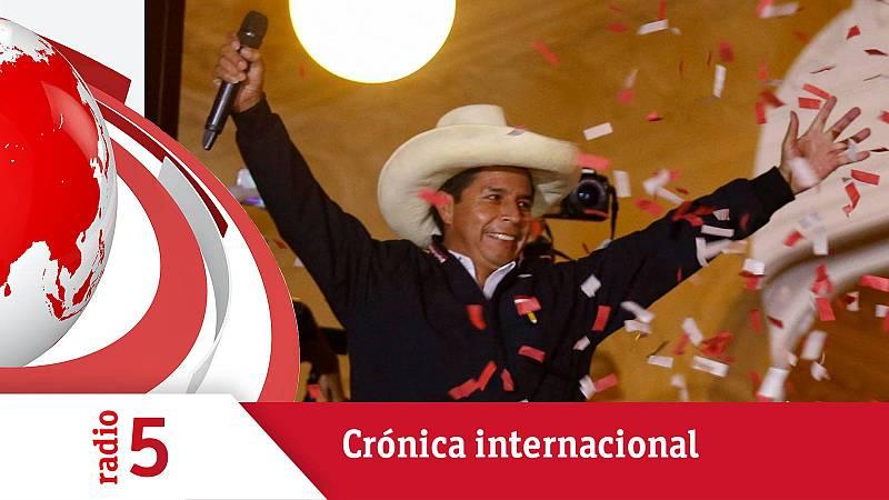 Crónica internacional - Pedro Castillo se ve ya como ganador en Perú - Escuchar ahora