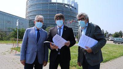 El recurs de Turull per la sentència de l'1 d'octubre arriba a Estrasburg