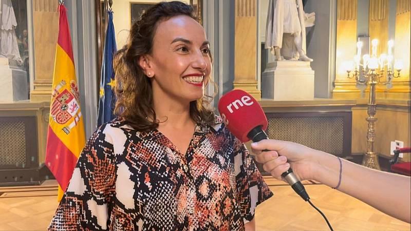 """Parlamento - El rincón - Olivia Delgado (PSOE): """"Soñaba desde muy niña con ser profesora"""" - Escuchar ahora"""