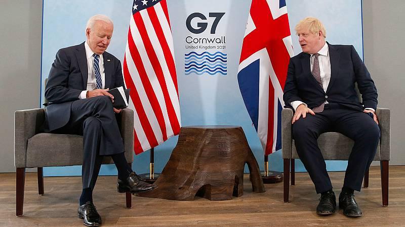 Enfoque Global en REE - Primer viaje a Europa de Joe Biden - 12/06/21 - escuchar ahora