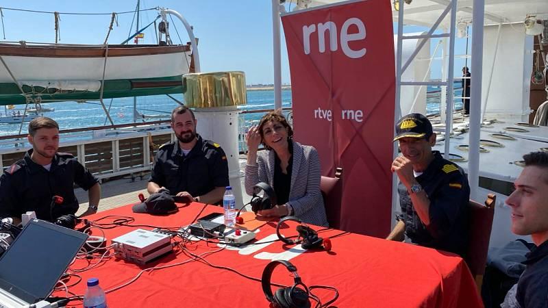 'Por tres razones' vive, a bordo, el final de la vuelta al mundo del Elcano - Escuchar ahora