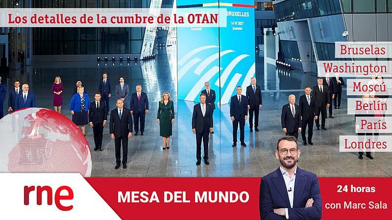 24 horas - Mesa del mundo: los detalles de la cumbre de la OTAN - Escuchar ahora