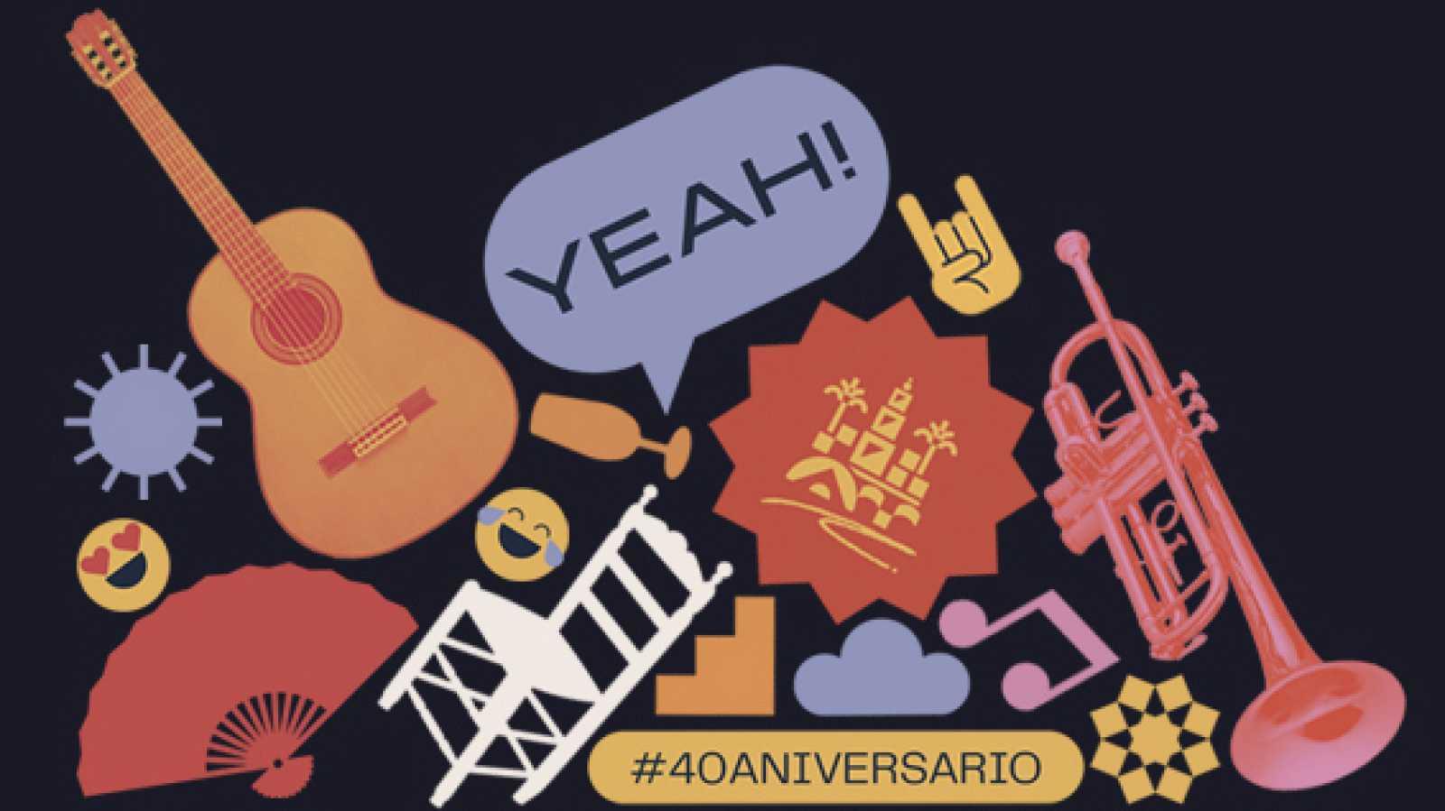 Tiempo Flamenco - 40 años del Festival de la Guitarra de Córdoba - 13/06/21 - escuchar ahora