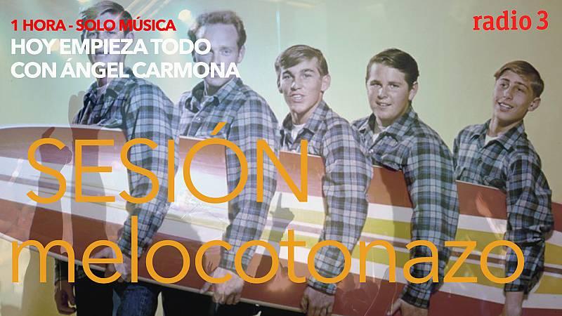 Hoy empieza todo con Ángel Carmona - #SesiónMelocotonazo: Beach boys, Ocean colour scene, Mikel Erentxun... - 17/06/21 - escuchar ahora