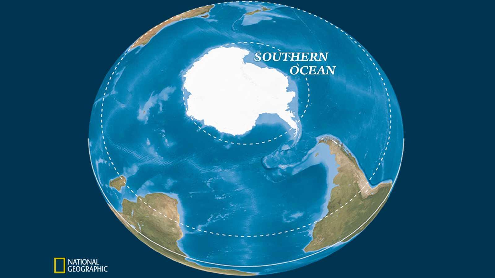 Meridiano de Turing - Se reconoce el 5º océano de la Tierra - Escuchar ahora