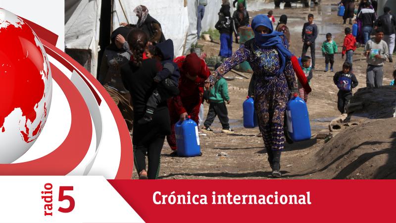 Crónica Internacional - El número de refugiados en el mundo se dobla en los últimos 10 años - Escuchar ahora