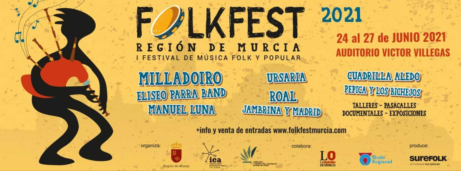 Tarataña - De San Juan y el Folk Fest de Murcia - 20/06/21 - escuchar ahora