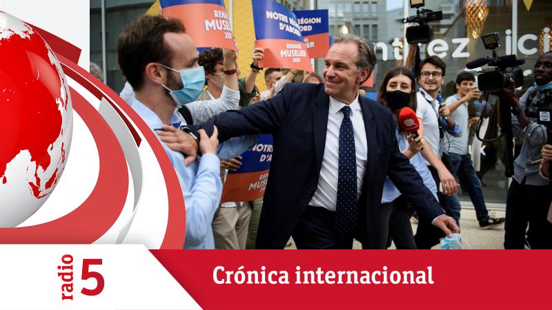 Crónica Internacional - La derecha gana las regionales francesas, marcadas por la abstención - Escuchar ahora