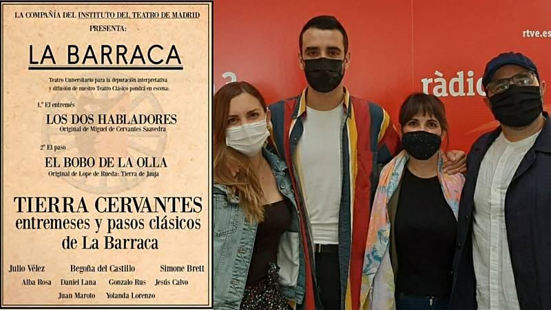 La sala - 'Tierra Cervantes': Julio Vélez, Begoña del Castillo, Alba Rosa y Juan Maroto - 21/06/21 - Escuchar ahora