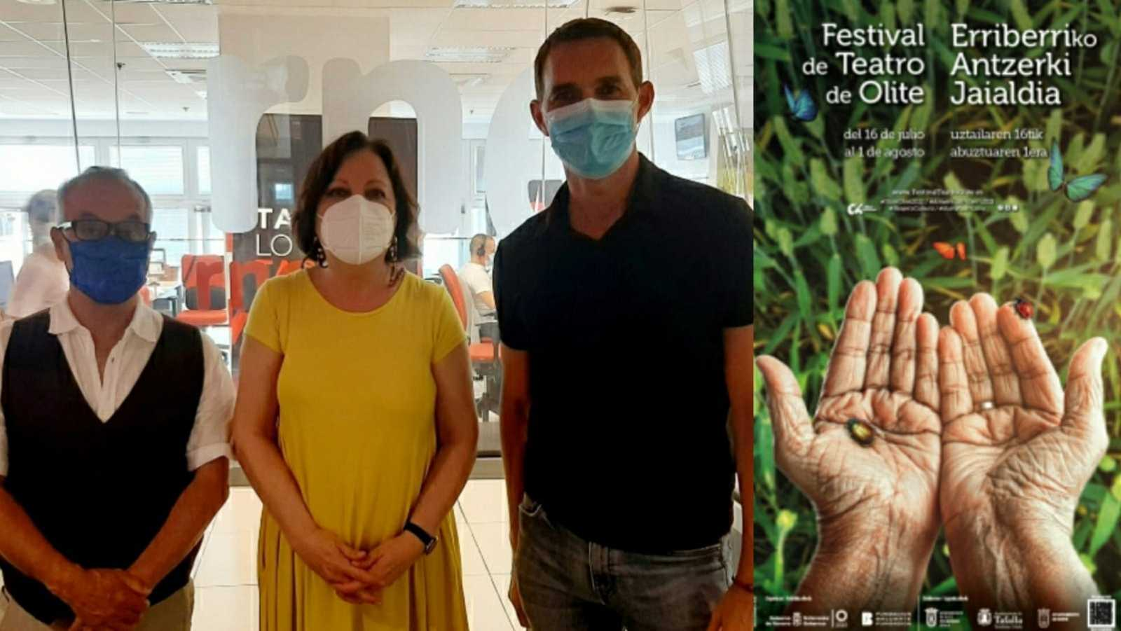 La sala - Festival de Olite: Luis Jiménez, Carmen Linares y Juan Carlos Rubio - 21/06/21 - Escuchar ahora