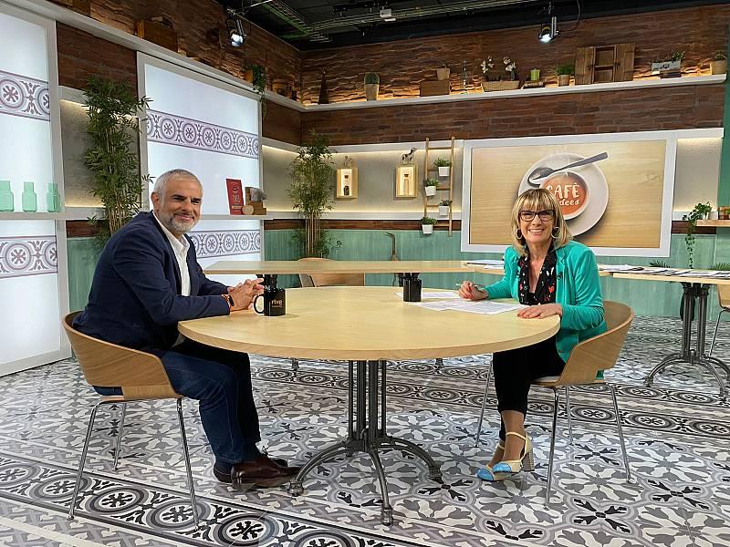 Cafè d'Idees - Carlos Carrizosa i Iolanda Segura - Escoltar Ara