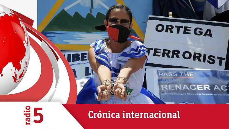Crónica internacional - La persecución de Ortega en Nicaragua - Escuchar ahora