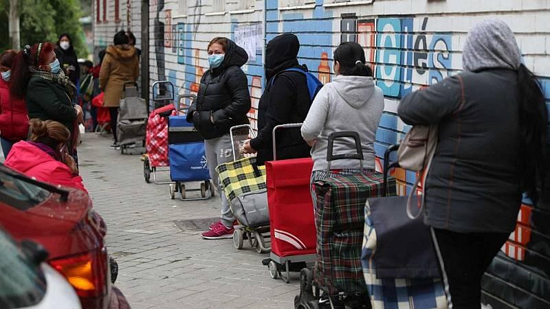 14 horas - Cáritas advierte que la crisis social provocada por la pandemia no ha pasado - Escuchar ahora
