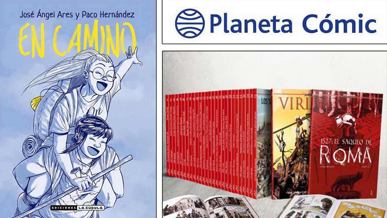 """¡Qué de cómics! - """"En camino"""", la historia de España en viñetas y Planeta cómics - Escuchar ahora"""