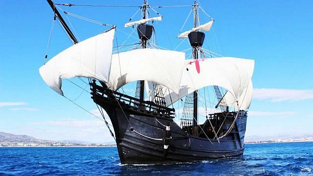 Gira por el Mediterráneo de la nao Victoria