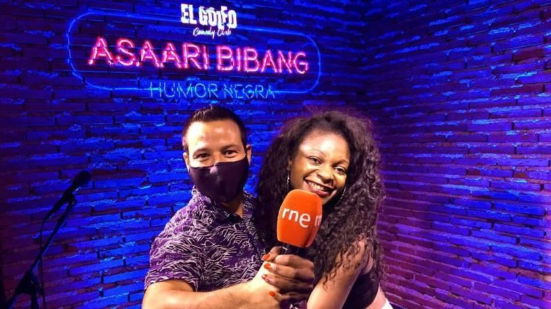 La sala - ¿Algún cómico en La sala? Asaari Bibang con Jorge García Palomo - 29/06/21 - Escuchar ahora